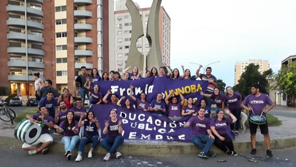 Franja Morada seguirá al frente de los centros de estudiantes durante 2020.