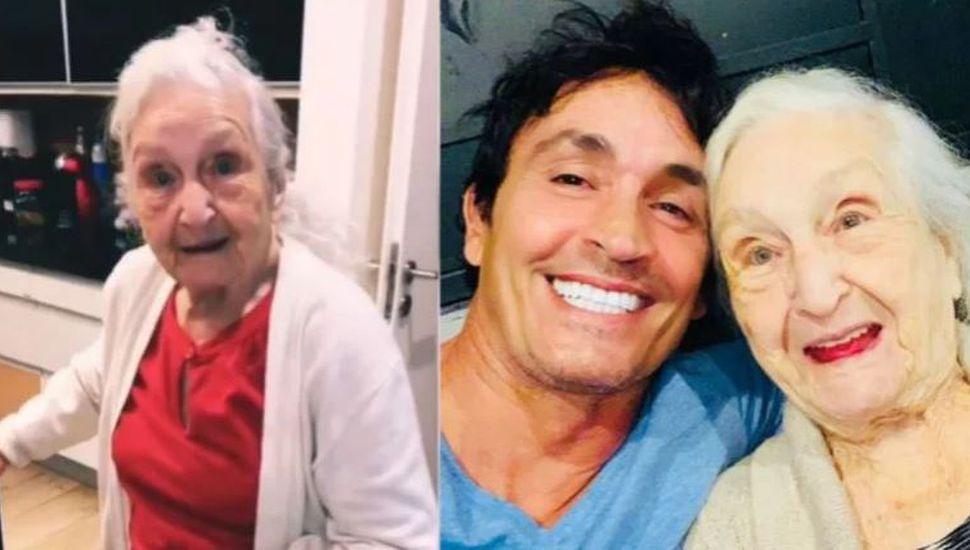 Los divertidos videos de la abuela de Sebastián Estevanez: tiene 92 años y la rompe en Instagram