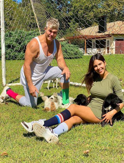 Se reconciliaron Barby Frano y Fernando Burlando, la pareja fue vista en Cariló.