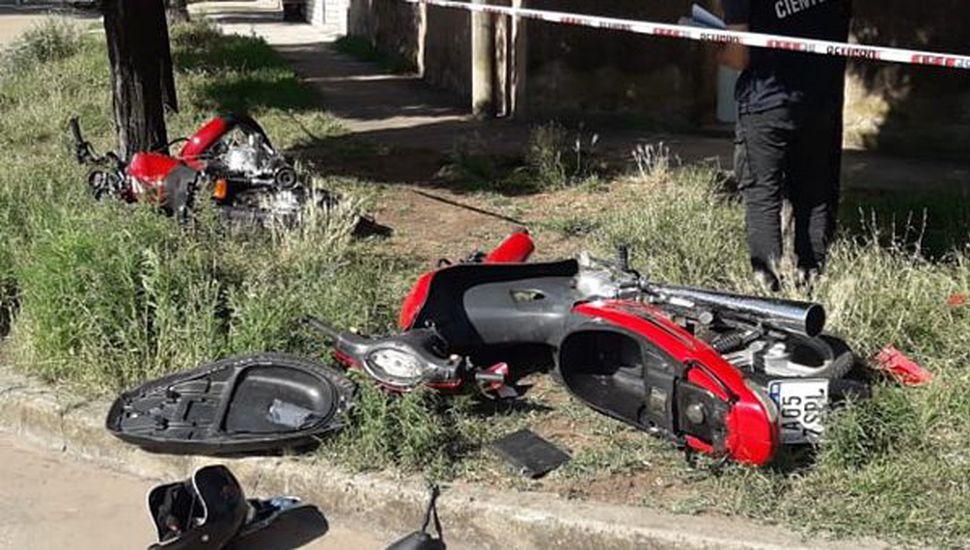Un joven de 17 años perdió la vida en un choque entre dos motocicletas