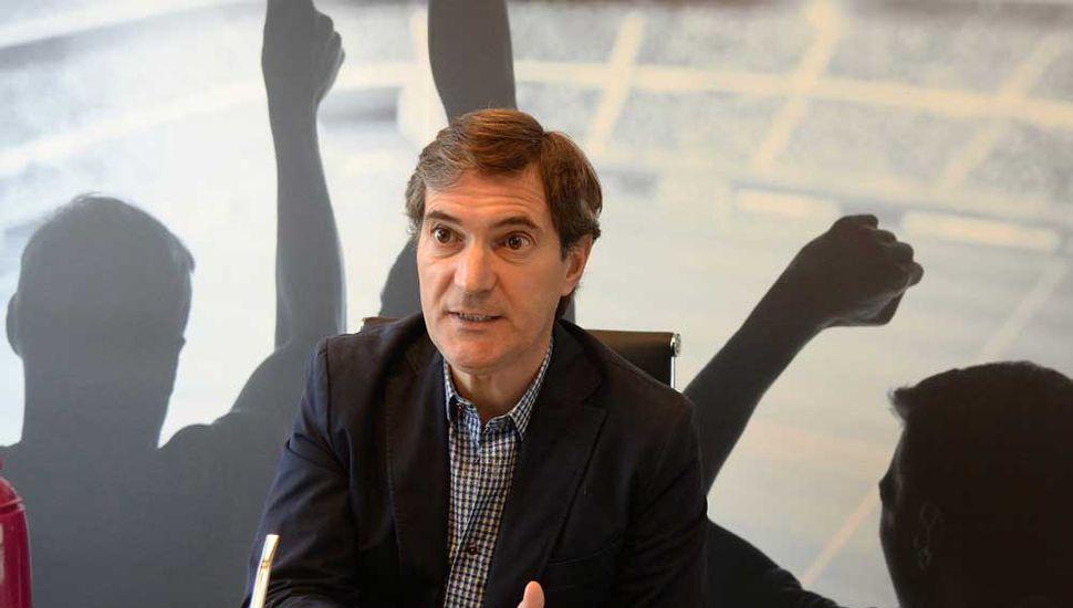Mariano Elizondo, presidente de la Superliga.