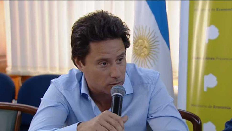 Gabriel Sánchez Zinny, ministro de Educación bonaerense.