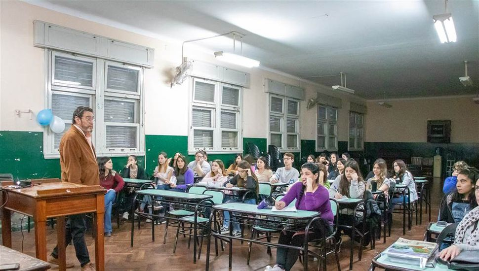 Tuvo lugar en el Instituto Superior del Profesorado 129.
