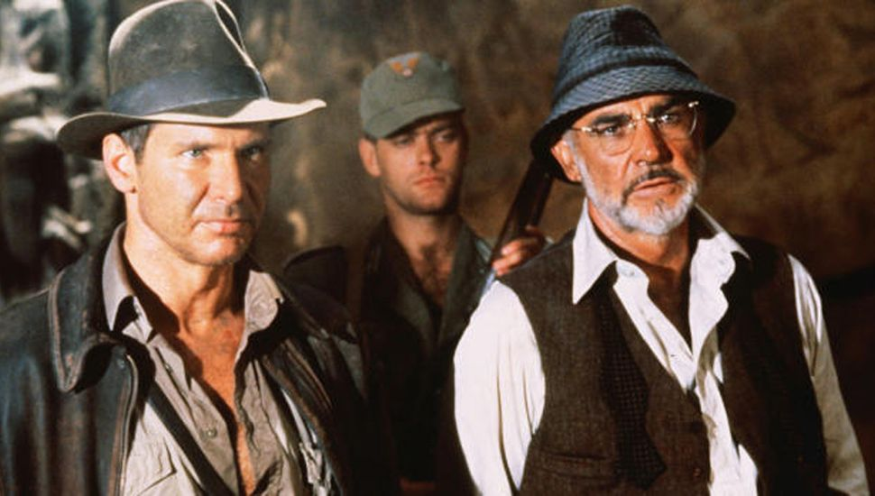 Harrison Ford y Sean Connery, protagonistas.