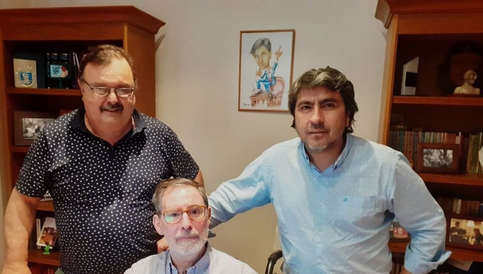 Juan Manuel Sequeira mantuvo un encuentro con Jorge Rivas.