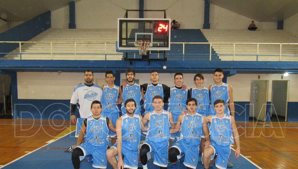 Formación de primera división de Porteño de Chacabuco.