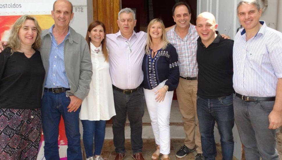 Merlo participó de un encuentro de concejales en Los Toldos