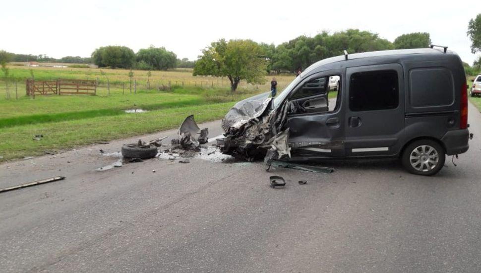 Grave accidente en la Ruta 191