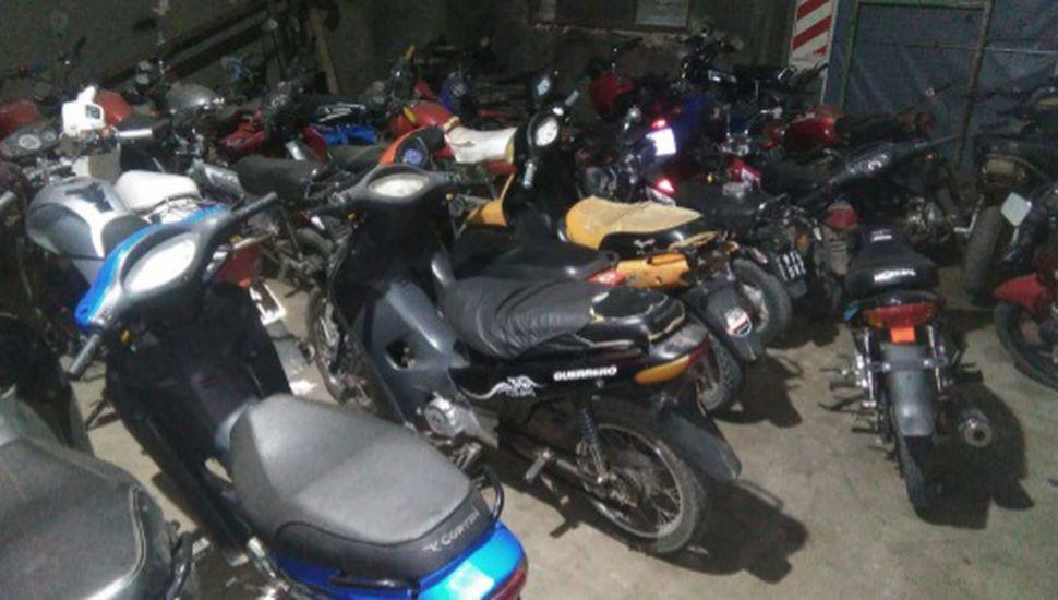 Secuestran 27 motos en operativos de control