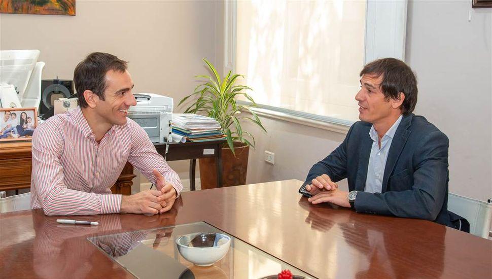 Ariel Díaz dejará de ser el secretario de Hacienda