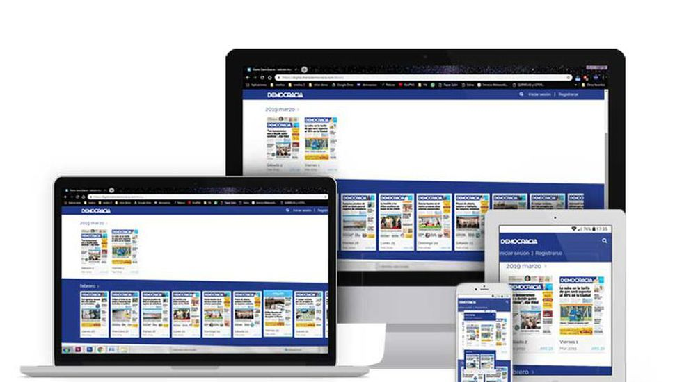 La dirección para acceder es digital.diariodemocracia.com.