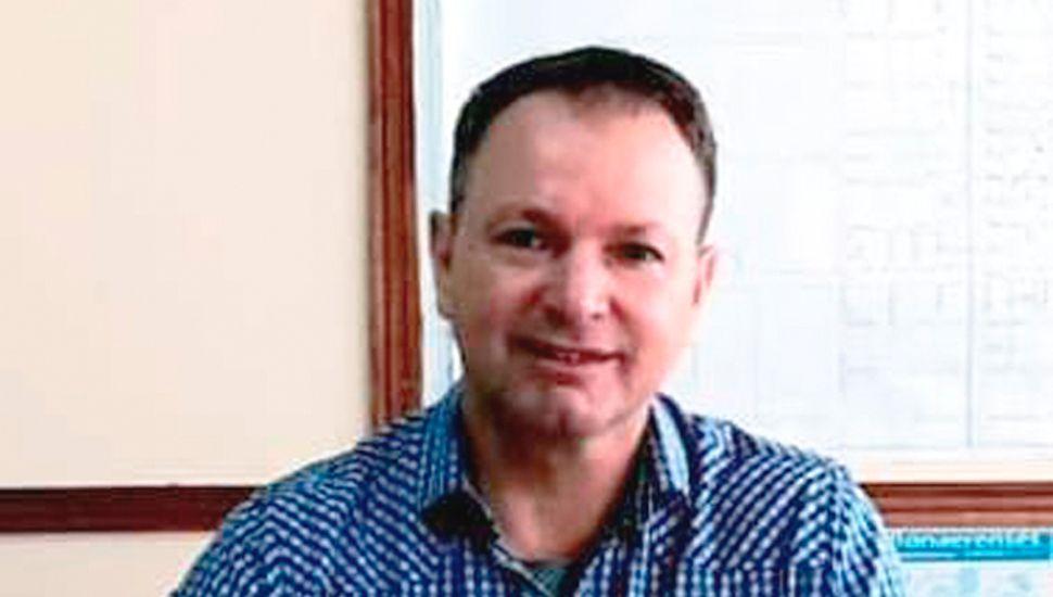 Gabriel Felipe López, actual presidente del Consejo Escolar y aspírante a ocupar una banca en el Concejo Deliberante por el Frente de Todos.