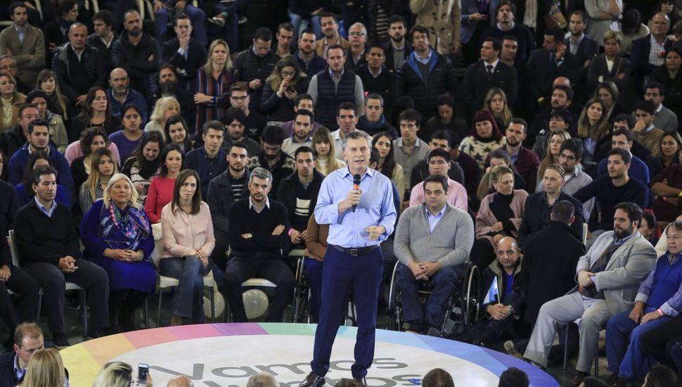 """Macri pidió """"ir a votar para decir que estamos convencidos del cambio"""""""