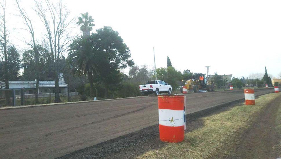 Imagen tomada en la curva de la entrada al barrio San Carlos.