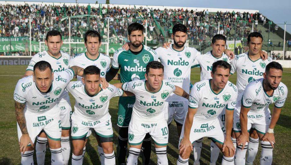 Este sería el equipo titular que presentaría Sarmiento de Junín, el sábado en Santiago del estero.