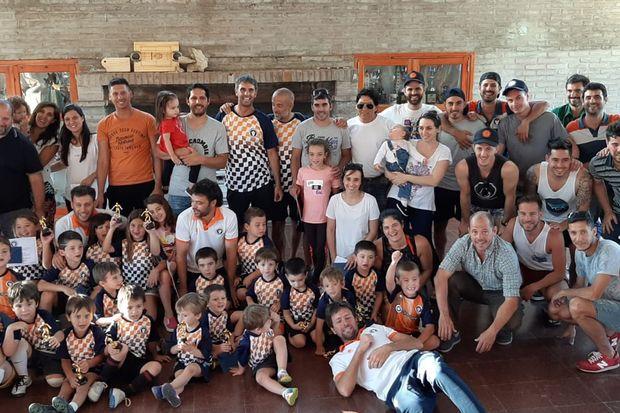 El Club Santa Alicia cerró  la temporada 2019 de  su escuelita de fútbol