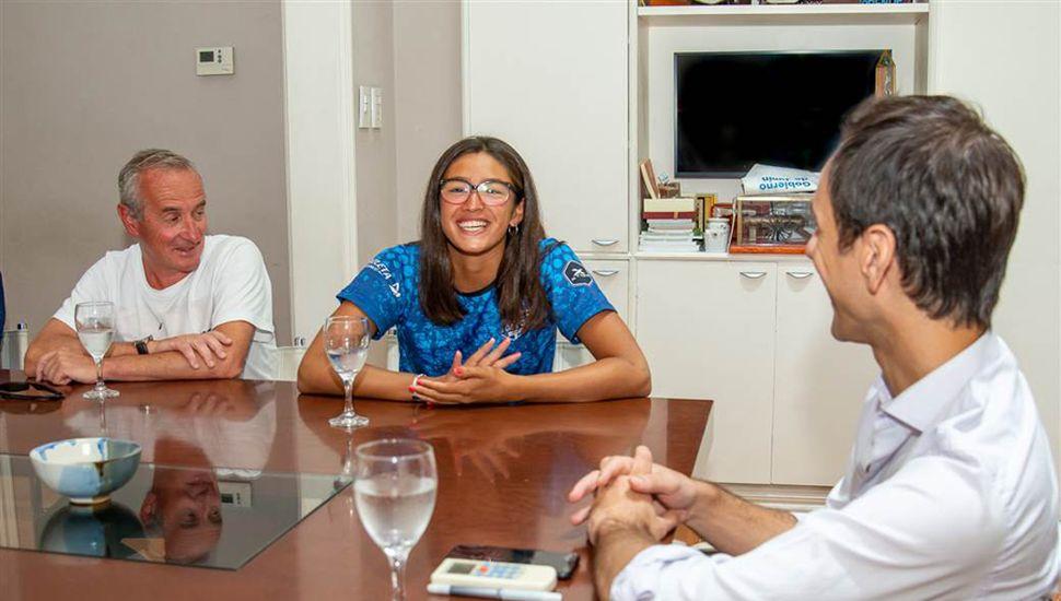 Claudio Yópolo, Lucia Ferreri y Pablo Petrecca.