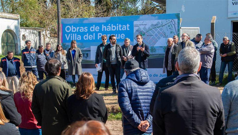 Con la necesidad de revertir el resultado adverso de las PASO, el intendente Pablo Petrecca refuerza los anuncios de obras.
