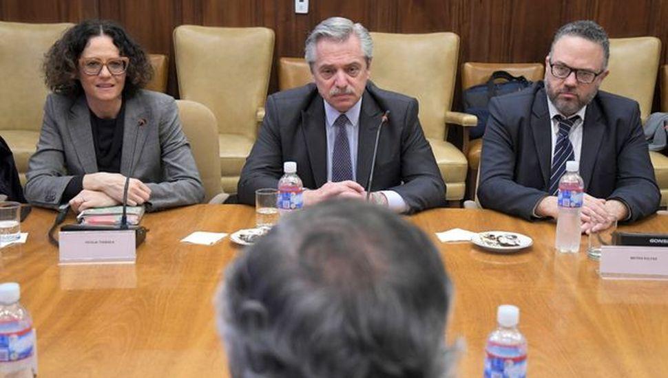 """Alberto Fernández dijo que con la UIA """"tenemos muchos puntos en común"""""""