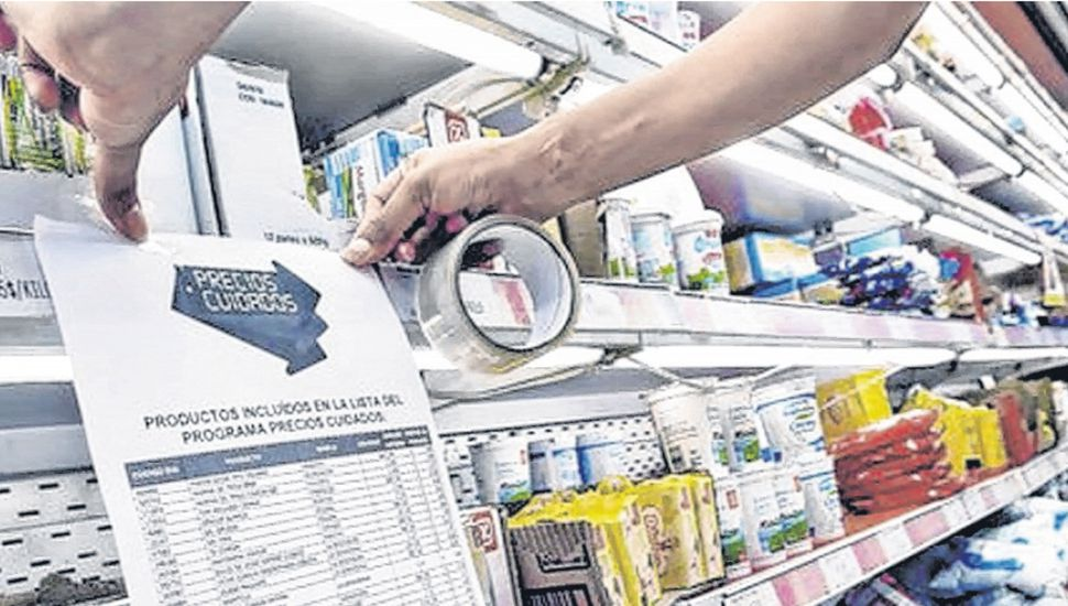 """La mayoría de los productos con precios """"congelados"""" deben estar hoy en las góndolas."""