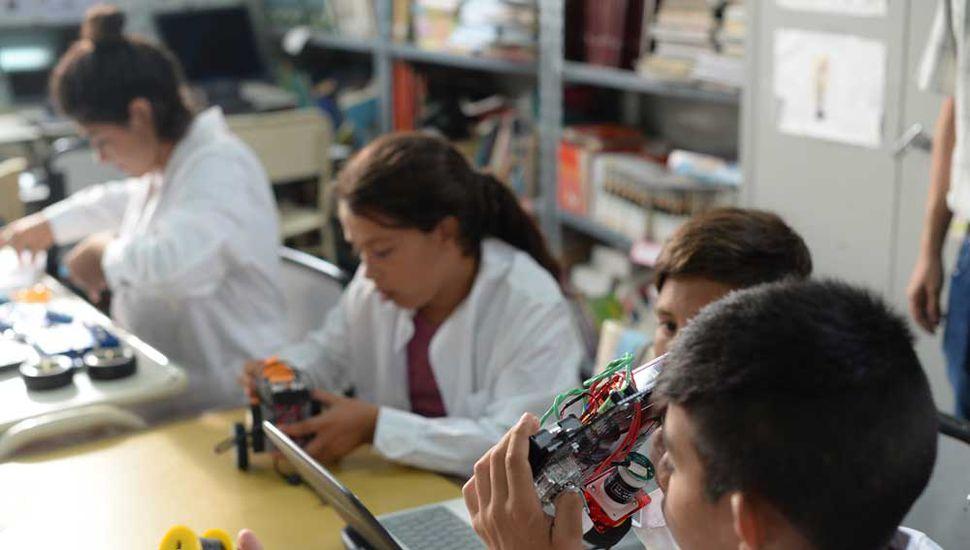 Se busca poner al alumno en el centro de la construcción del conocimiento.