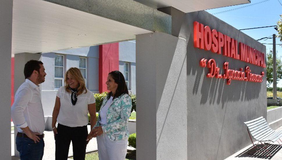 El ministro de Salud de la Provincia visitó General Arenales
