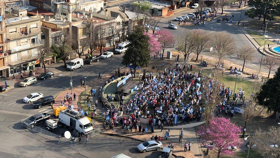 Expectativa en Junín por la marcha del #SíSePuede