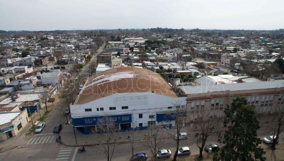 Junín desde el aire: Club Villa Belgrano