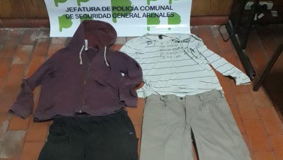 Robo en Ascensión: encontraron la ropa de los delincuentes