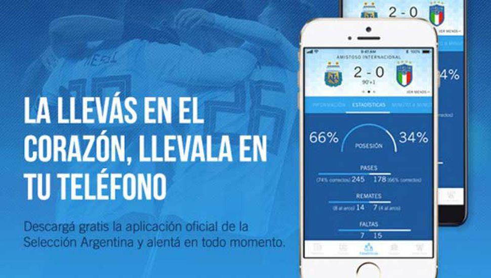 La AFA tiene aplicación móvil
