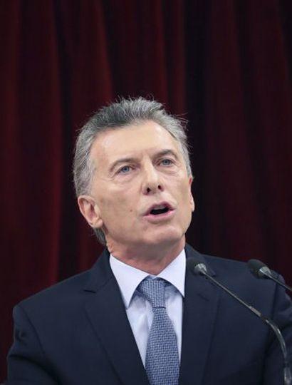 """Macri: """"Es fácil gastar un punto del PBI para crear una ilusión"""""""