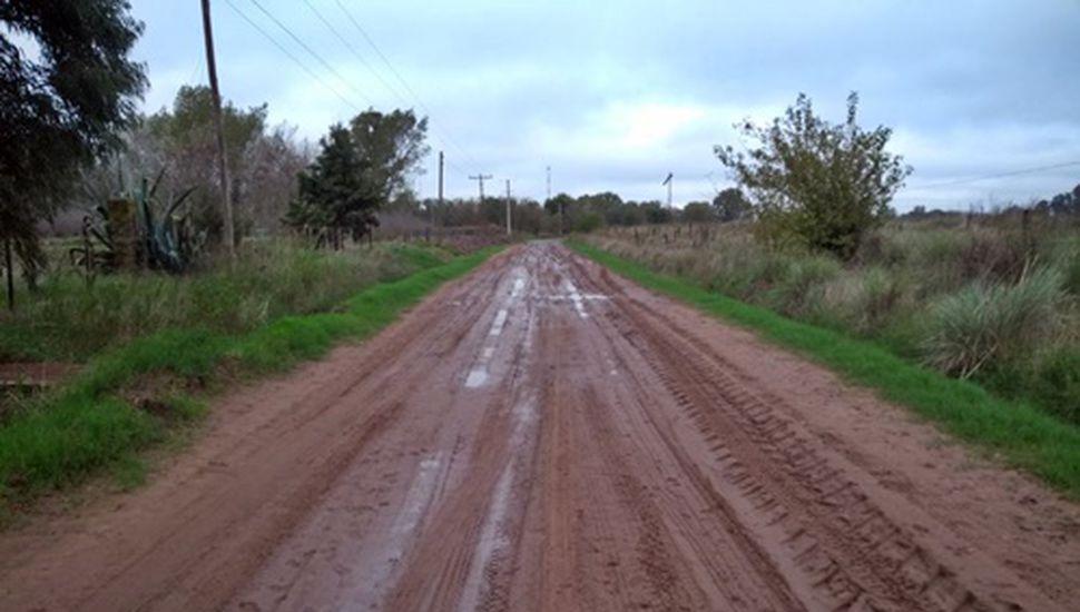 Bragado: trabajan en el arreglo de caminos rurales