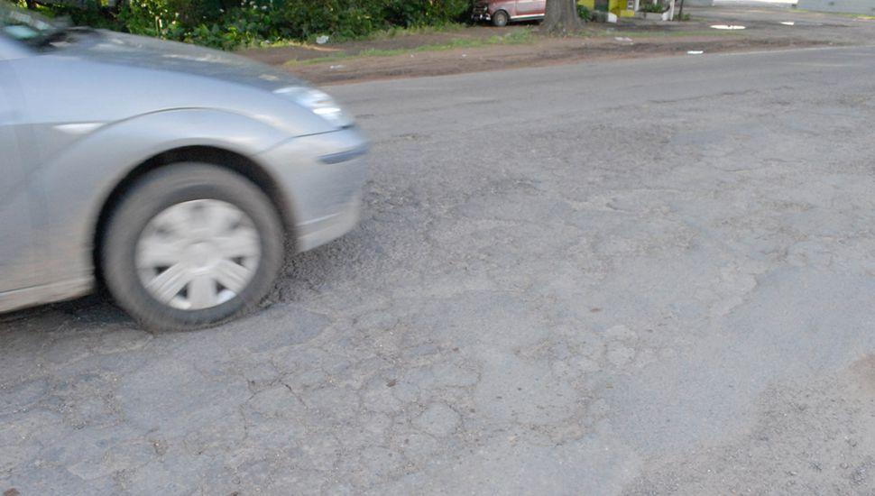 El camino al Balneario municipal será repavimentado.