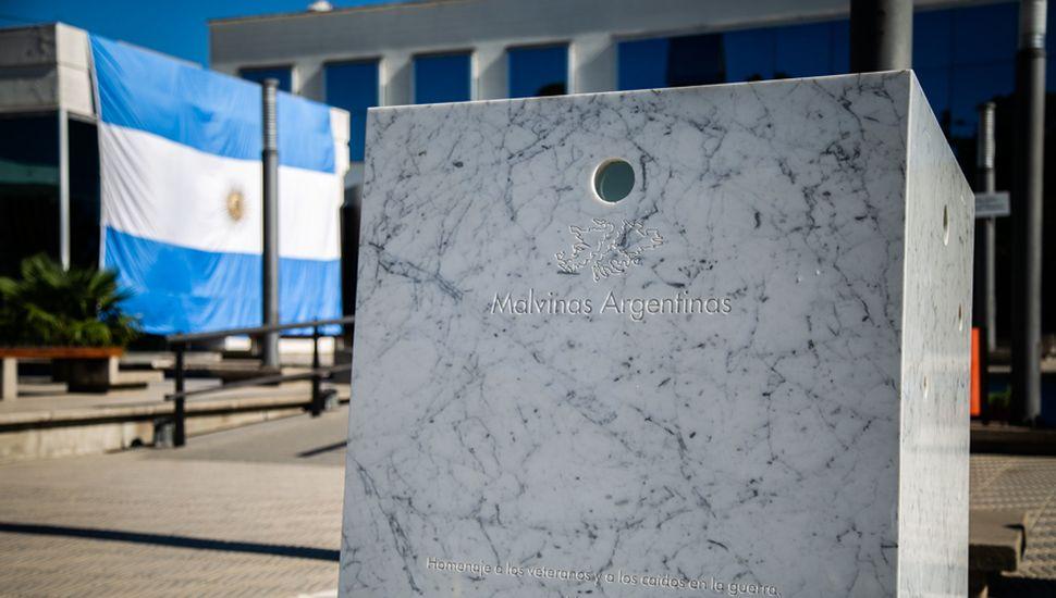 Monumento a Malvinas.