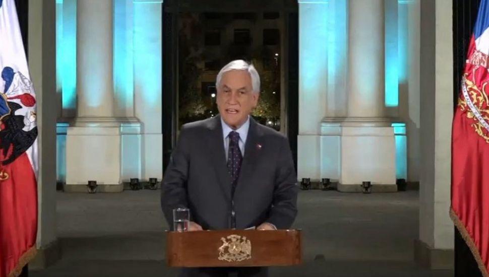 Piñera admite violaciones  a los derechos humanos