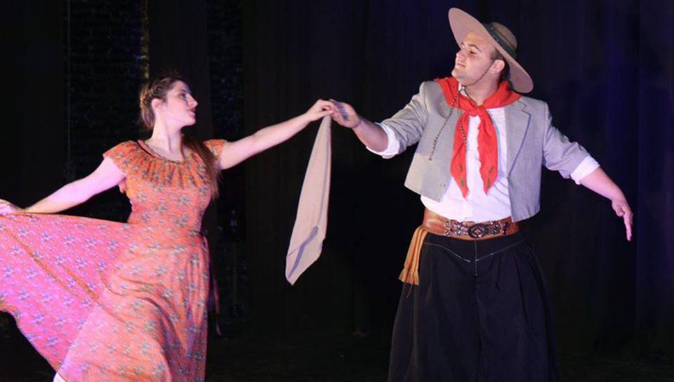 La danza siempre está presente en las fiestas criollas.