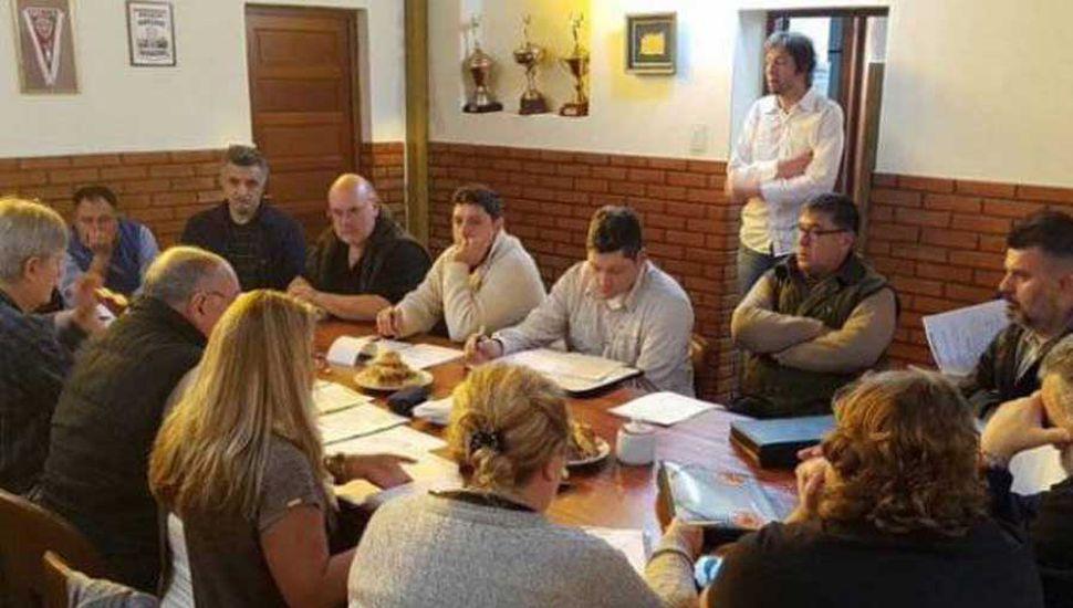 La reunión que se llevó a cabo en La Plata.