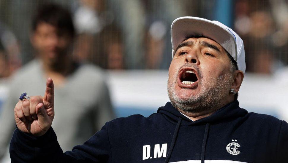 Diego Maradona apoyó en las redes al nuevo presidente.