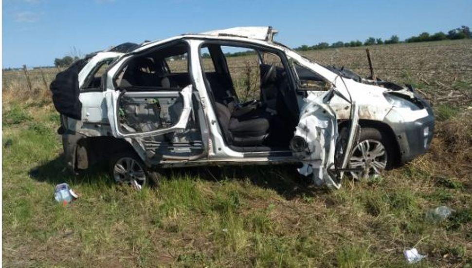 Un hombre murió en un accidente en ruta 188