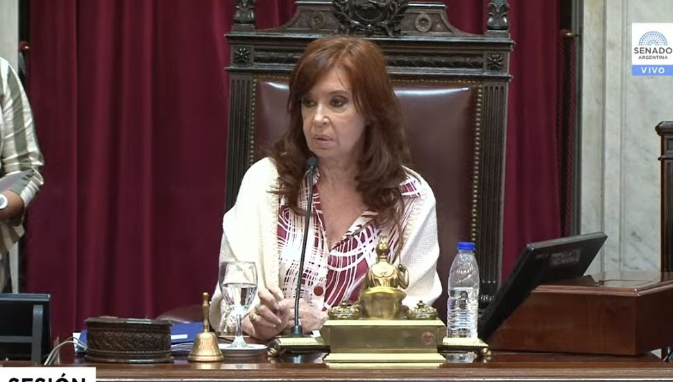 EN VIVO: comenzó la sesión del Senado para tratar la ley de Emergencia económica