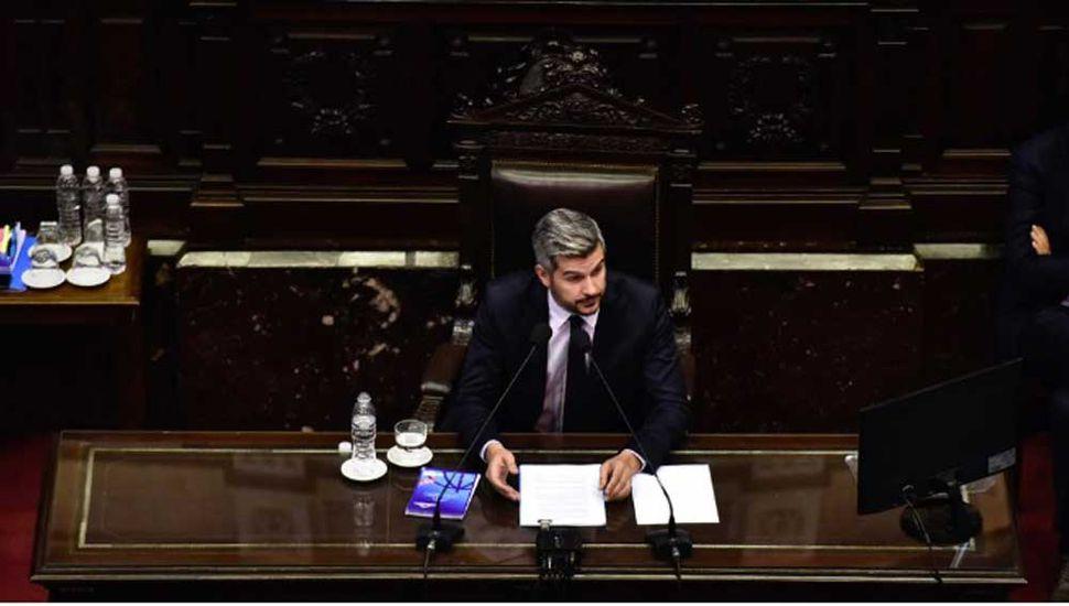 """Peña defendió el Presupuesto y aseguró que  el Gobierno """"está ordenando la economía"""""""