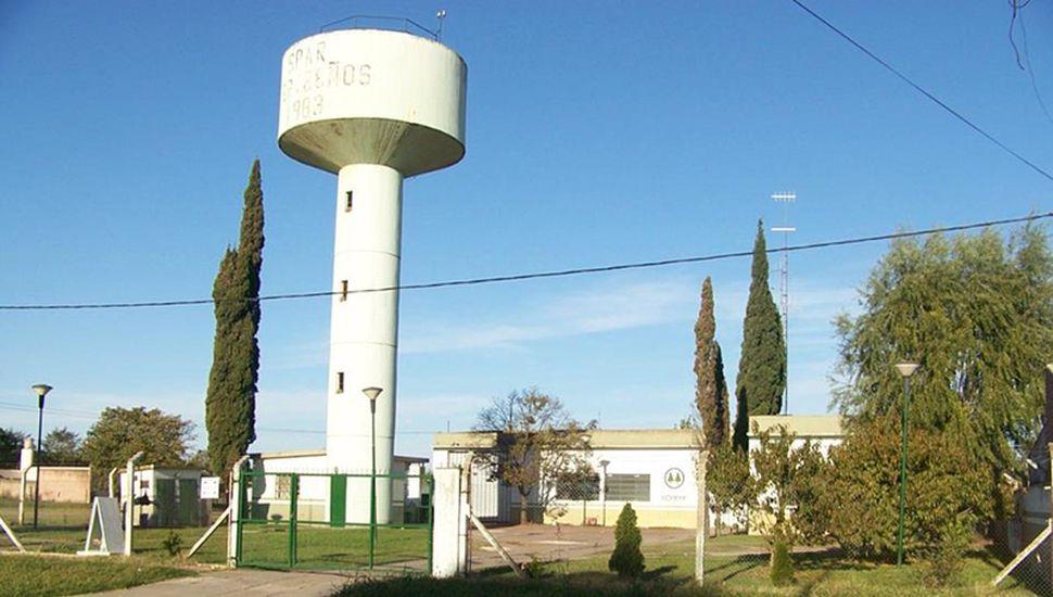 Instalaciones de COOPAR, en Arribeños.