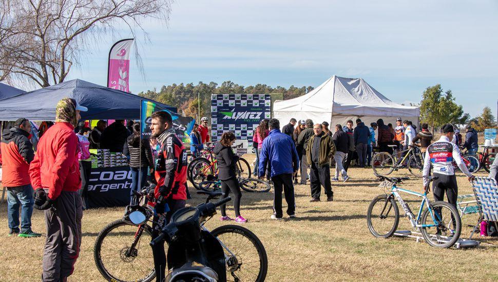 Gran jornada de rural bike en el parque Borchex.