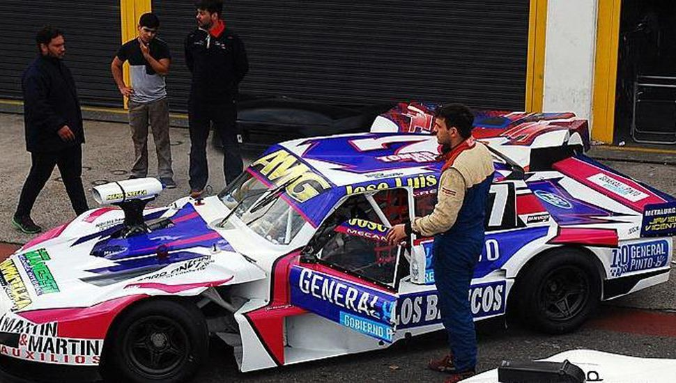 Tomás Di Nucci correrá el domingo con el Ford N˚ 7, en su retorno a la categoría Procar 4.000 de automovilismo.