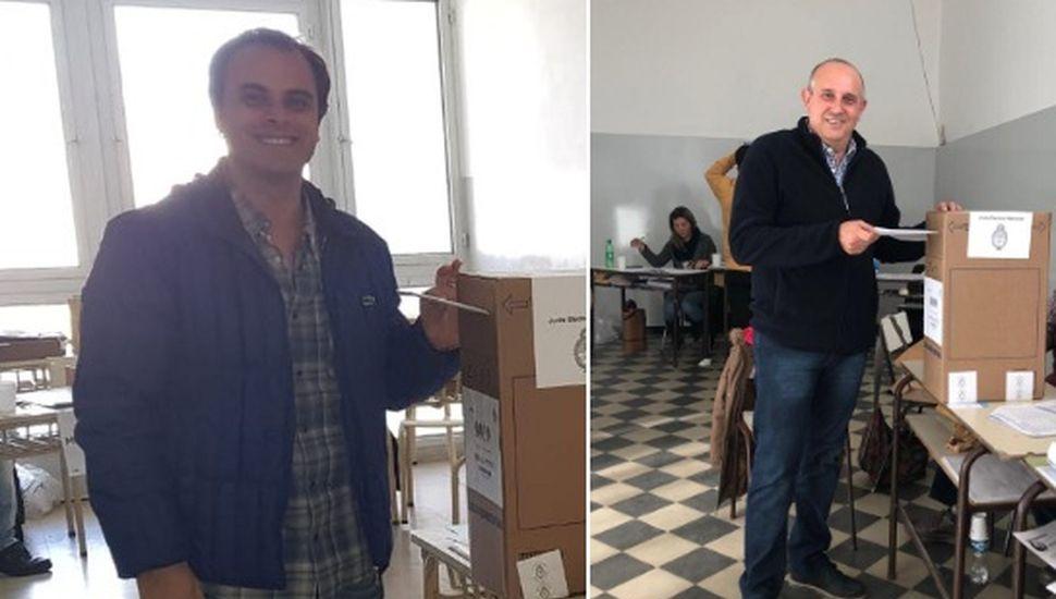 Guerrera y Zavatarelli votaron en General Pinto