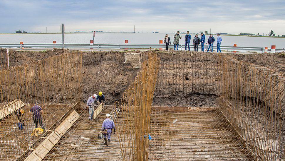La obra del Puente de Lincoln, clave para evitar inundaciones.