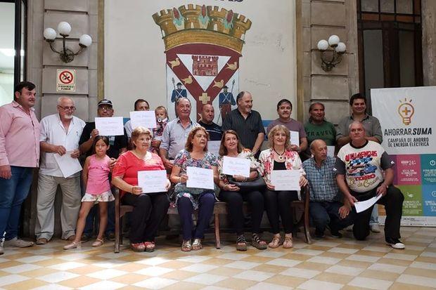 Distinguieron a empleados municipales de Rojas que inician su etapa de jubilación