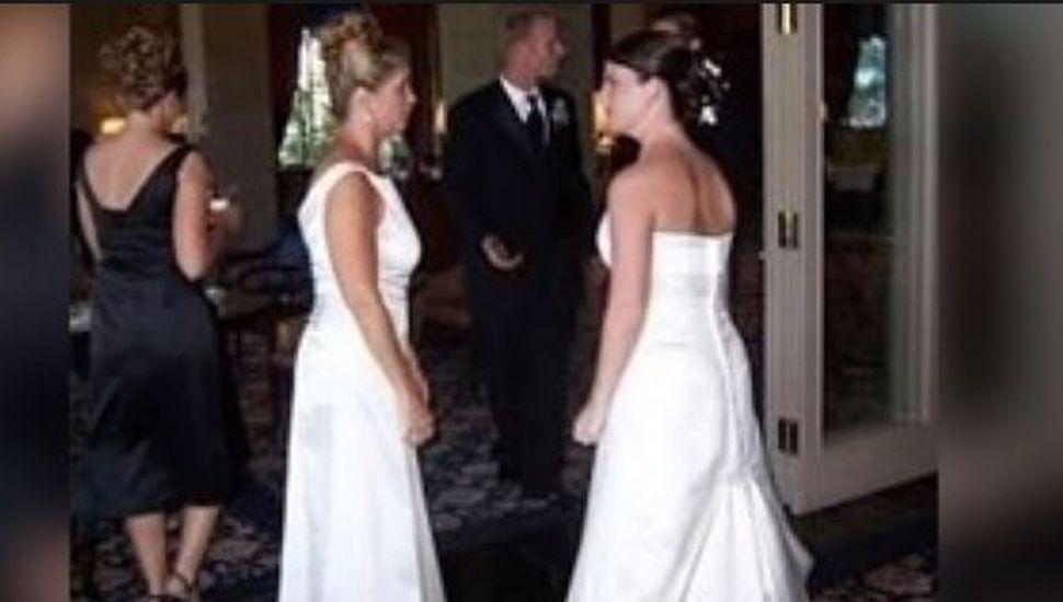 La novia que descubrió que su suegra también se había vestido de blanco el día de la fiesta