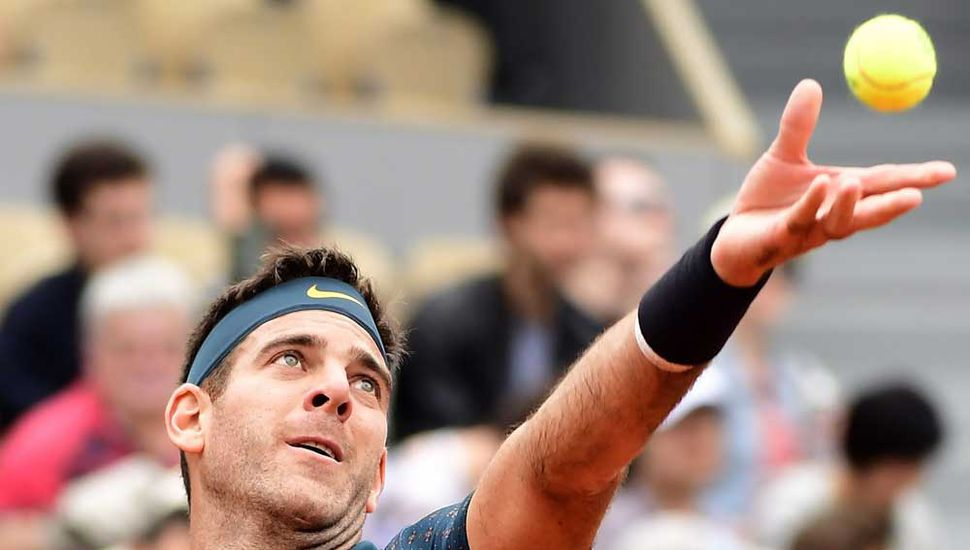 El tandilense Juan Martín del Potro tuvo que trabajar para derrotar en cinco sets al japonés Yoshihito Nishioka, ayer en Roland Garros.