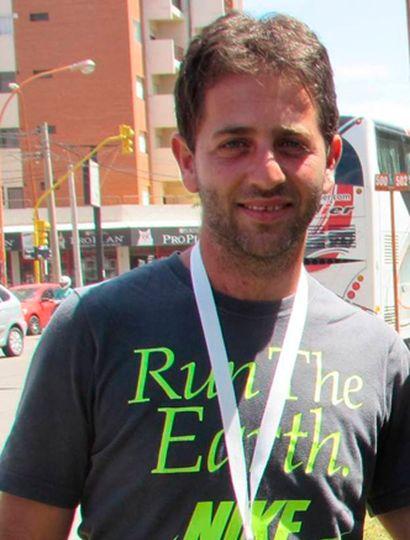Julián Coppolino, profesor de Educación Física y guardavidas.